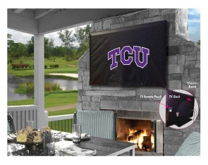 Texas Christian University Logo TV Cover