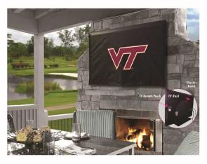 Virginia Tech Logo TV Cover
