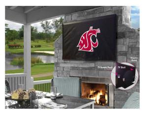 Washington State University Logo TV Cover