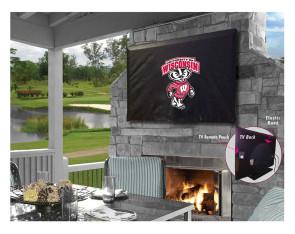 University of Wisconsin - Bucky Logo TV Cover