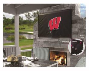 University of Wisconsin - W Block Logo TV Cover
