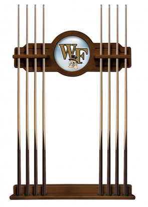 College Logo Pool Cue Rack