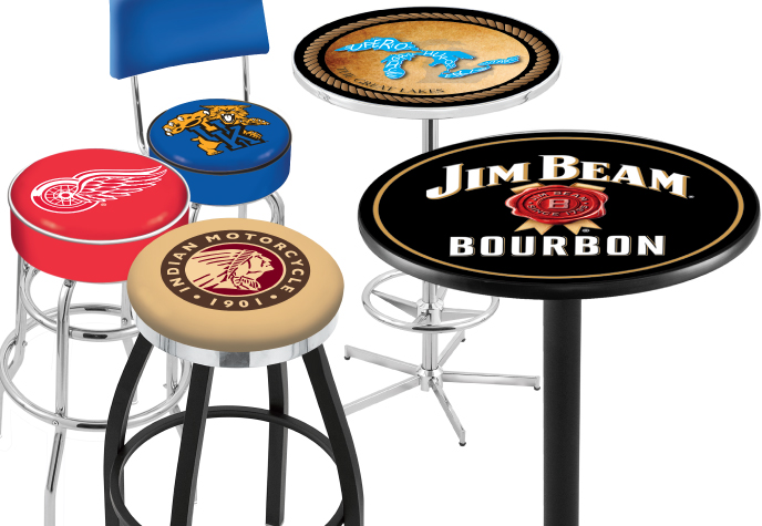 Image Gallery logo bar stools : Duel Tables from keywordsuggest.org size 688 x 475 jpeg 174kB