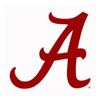 University of Alabama A Script
