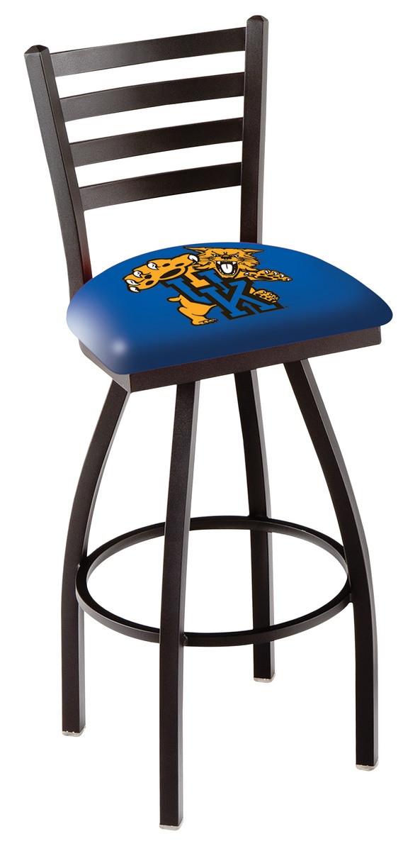 L014 University Of Kentucky Cat Logo Bar Stool Wildcat